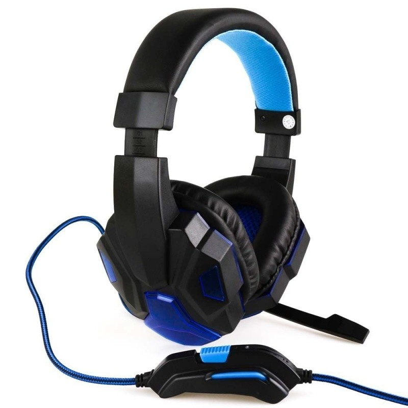 Headset Gamer Kp-397 - Knup - Usb, Ps4, Pc, Xbox One Azul
