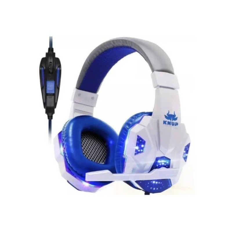 Headset Gamer Kp-397 - Knup - Usb, Ps4, Pc, Xbox One Branco