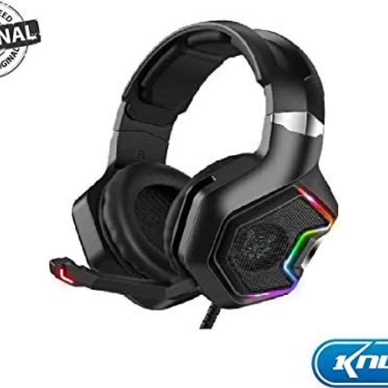 Headset P/ Pc/ Ps4/ Xbox One C/ Microfone 7.1 Rgb Led Kp-489 #MEGAPROMO