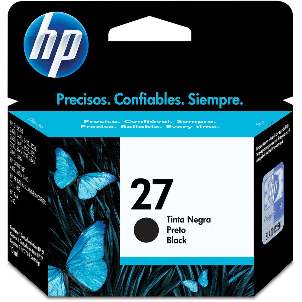 HP C8727AB 27 CARTUCHO DE TINTA PRETO (11 ml)