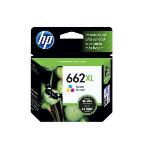 HP CZ106AB 662XL CARTUCHO DE TINTA COLOR (8 ml)