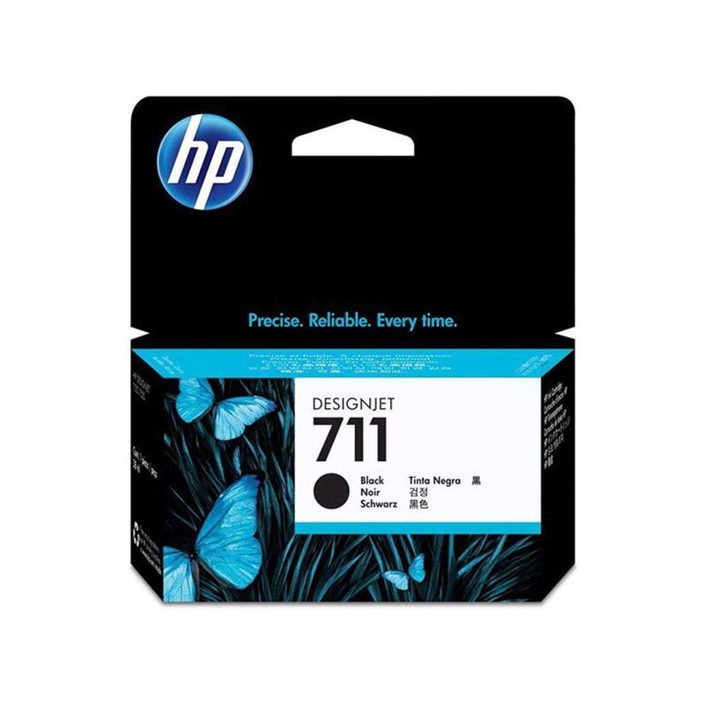 HP CZ129AB CARTUCHO DE TINTA PLOTTER 711 PRETO (38 ml)