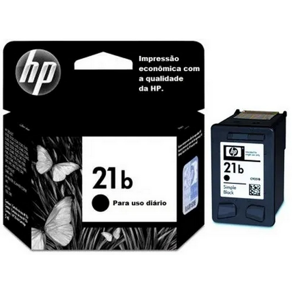 HP EVERYDAY 21b CARTUCHO DE TINTA PRETO(7 ml)