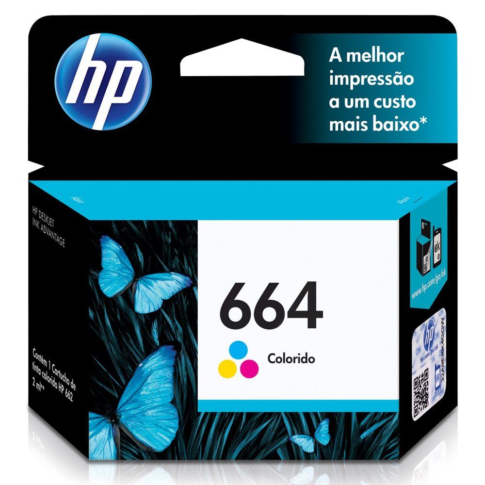HP F6V28AB 664 CARTUCHO DE TINTA COLOR 2,0 ml