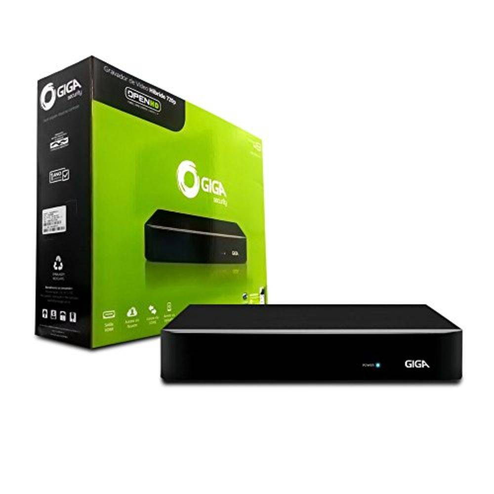 HVR DVR OPEN HD 4MP 4 CANAIS COMPRESSAO H.264+ SAIDA BNC - GS04OPEN4Mi2