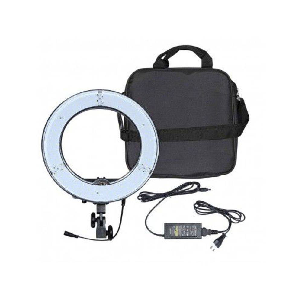 Iluminador Led Ring Light Rl-12 Circular Foto Video Rl12 JR-RL-12