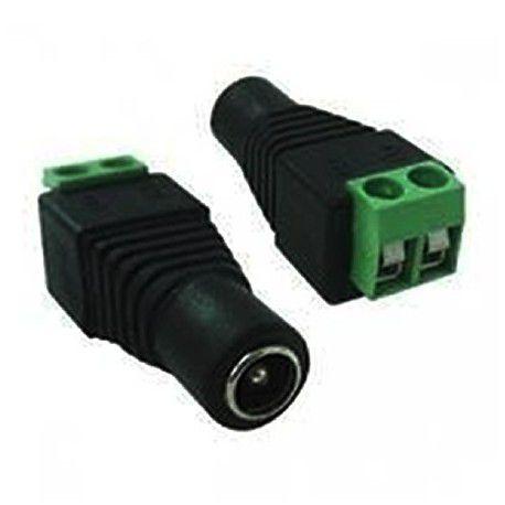 Kit Cftv Conector Bnc P4 FEMEA Com Borne C/ 10 Und