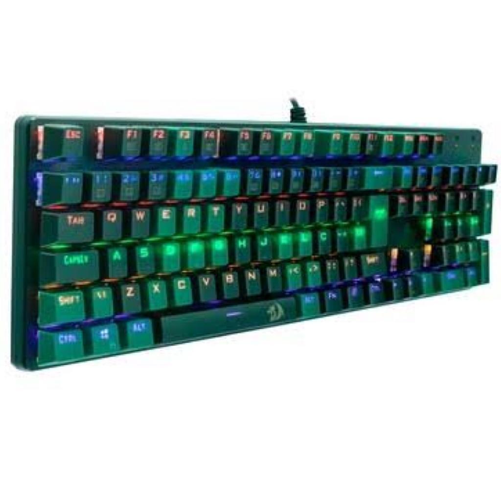 KIT TECLADOMOUSE GAMER REDRAGON S108 LIGHT GREEN