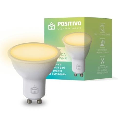 Lampada Positivo Smart Inteligente Spot Wi-Fi