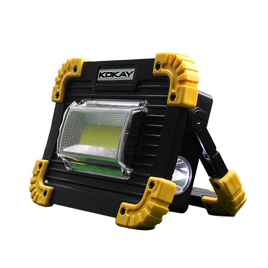 Lanterna LED para Camping com Refletor 20W á Pilha Chip Sce - 056-0060