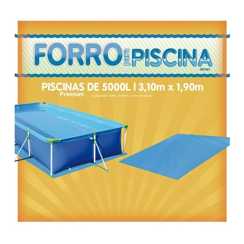 Lona Forro P/ Protecao Para Fundo Piscina 5000 Litros Mor PREMIUM 1461