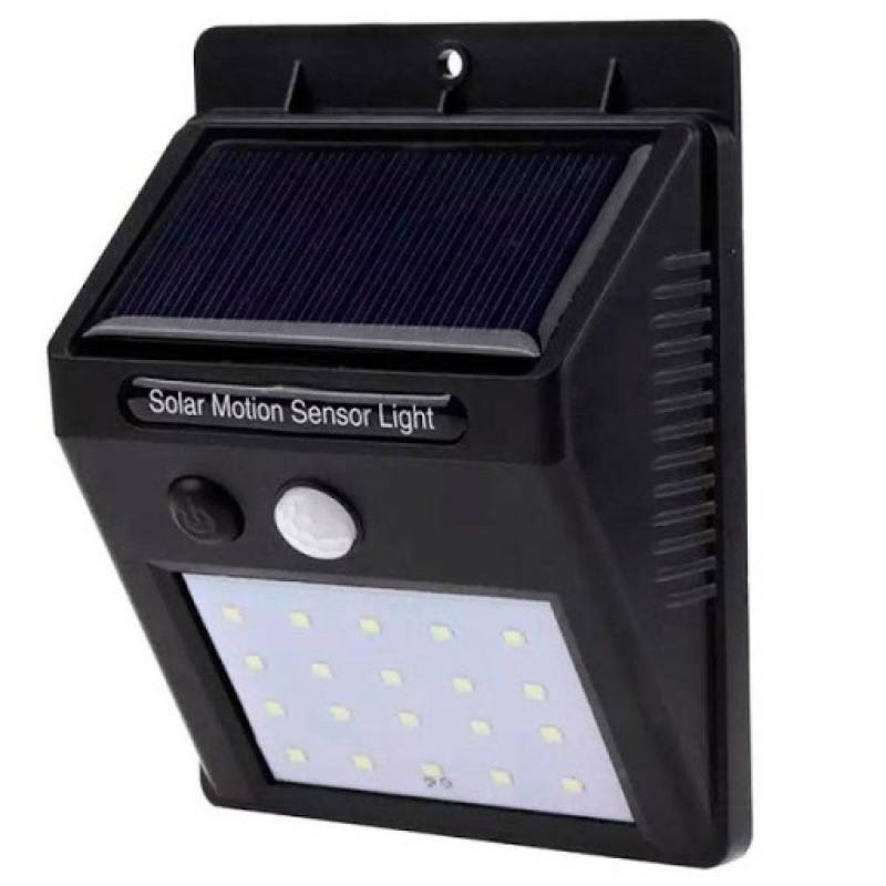 Luminaria Luz Solar Com Sensor 48 Led Cob Alta Potência XD06