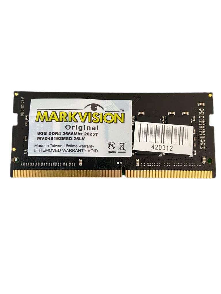 MEM DDR4 8GB/2666 MARKVISION NOTEBOOK