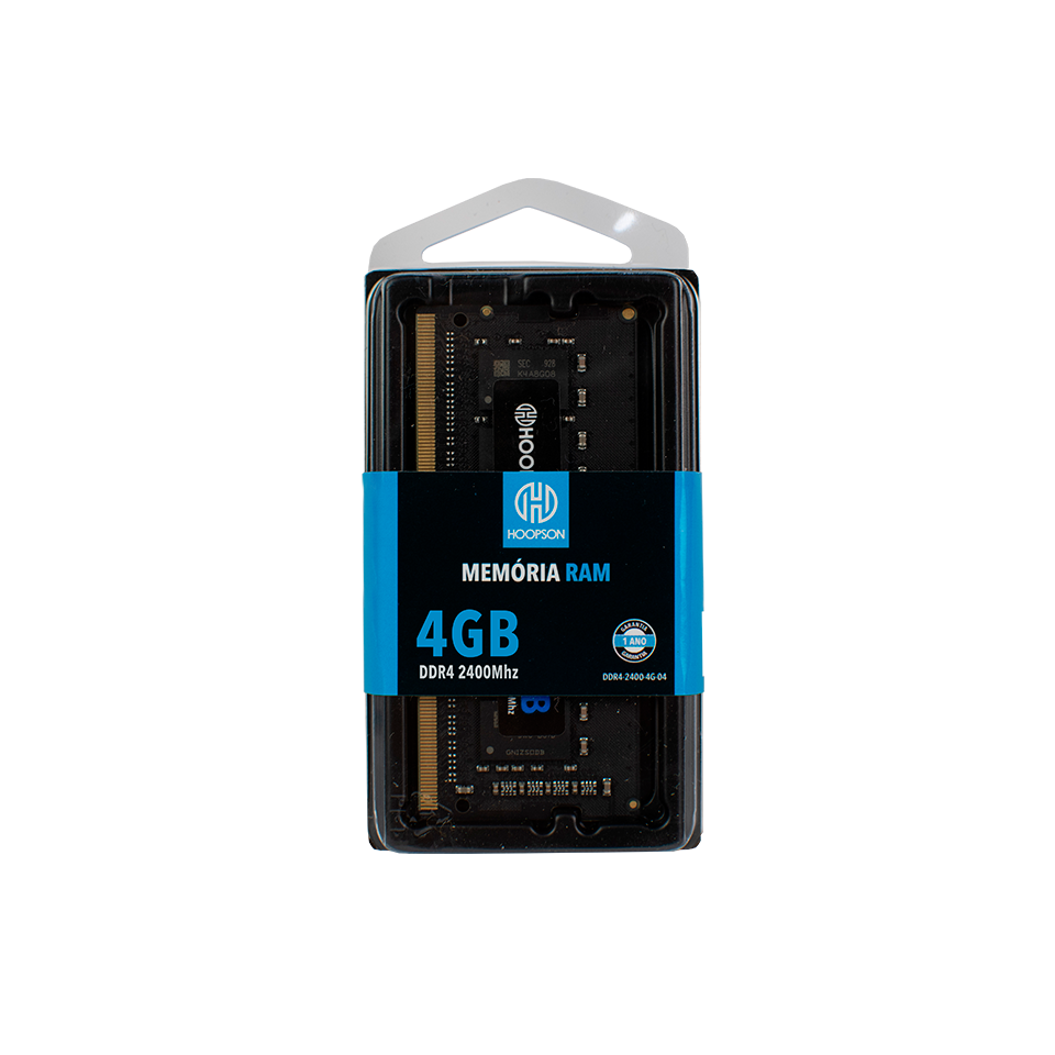 MEMORIA 4G DDR4 2400 NOTEBOOK HOOPSON