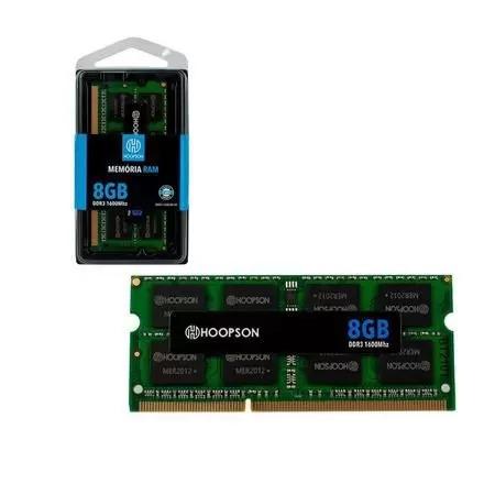 MEMORIA 8G DDR3 1600 NOTEBOOK HOOPSON