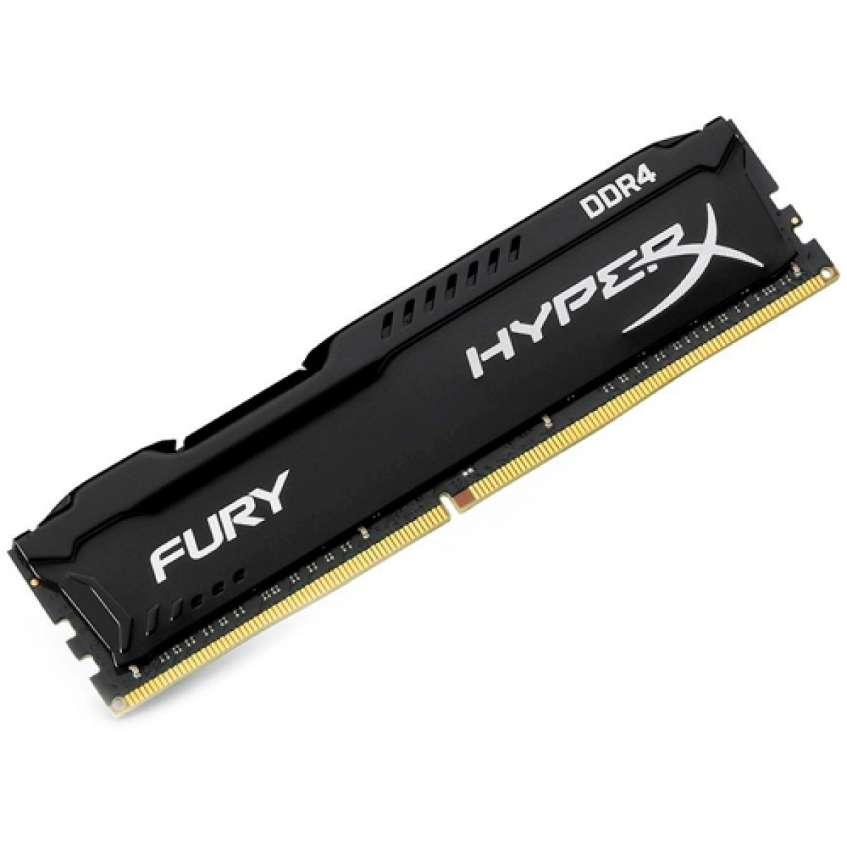 Memória Gamer Kingston HyperX Fury Black 8GB 2666MHz DDR4 CL16 - HX426C16FB3/8