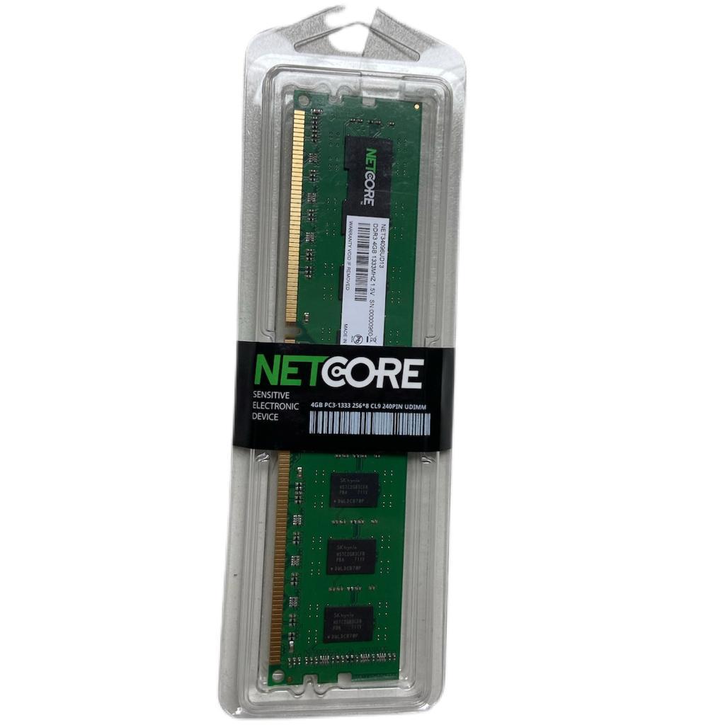 MEMORIA PC DDR3 4GB 1333MHZ 1,5V NETCORE