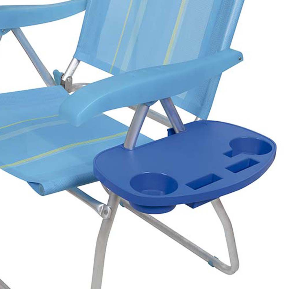 Mesa Portátil Para Cadeira Praia Porta Copo Celular Mor 2470