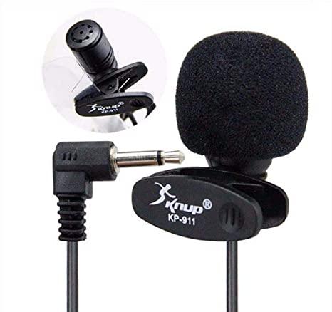 Microfone de Lapela para Youtubers Knup - KP-911 Knup
