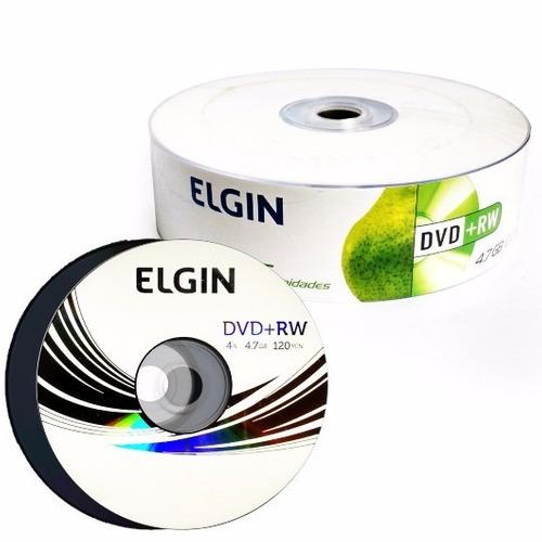 Midia Virgem Dvd+rw Com 25 Elgin 4x 4.7gb Logo (shrink)