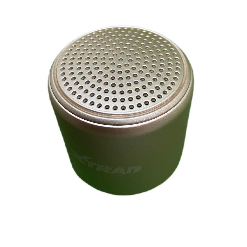 Mini Caixa De Som Inpods Little Fun Portátil Bluetooth  Dourada xdg-80