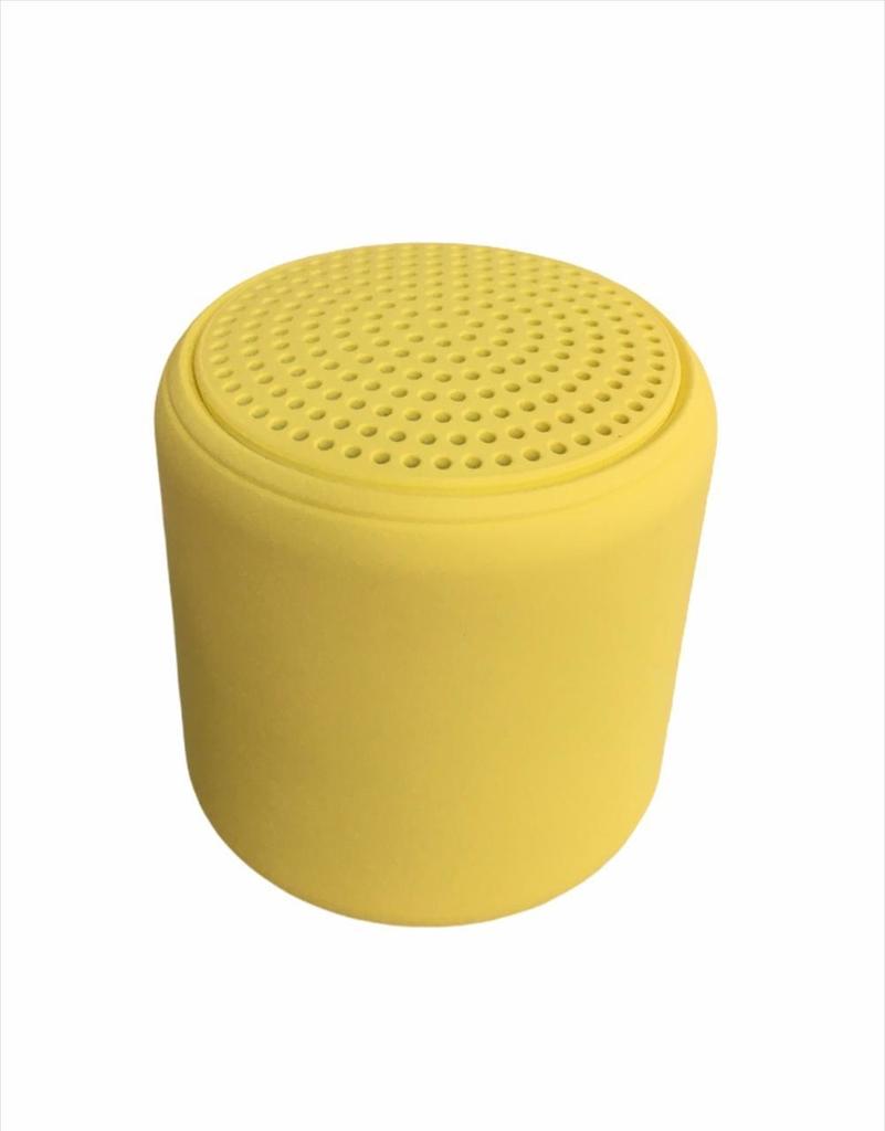 Mini Caixa De Som Inpods Little Fun Portátil Bluetooth LITTLEFUN Amarela