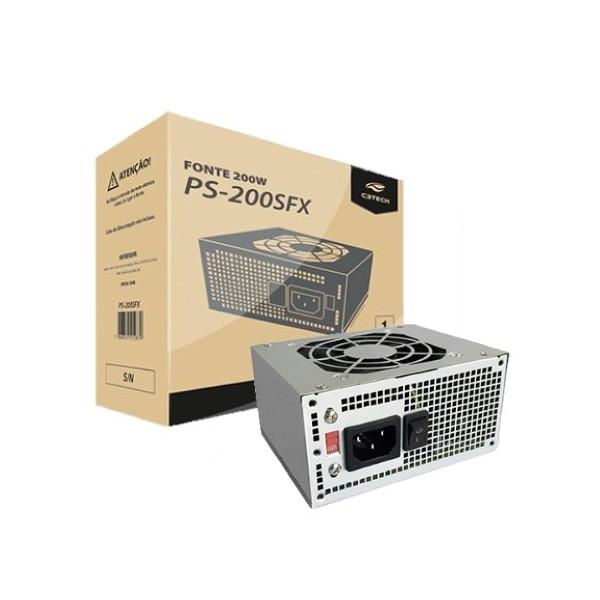 MINI FONTE SFX 200W C3TECH MOD PS200 SFX MINI ATX