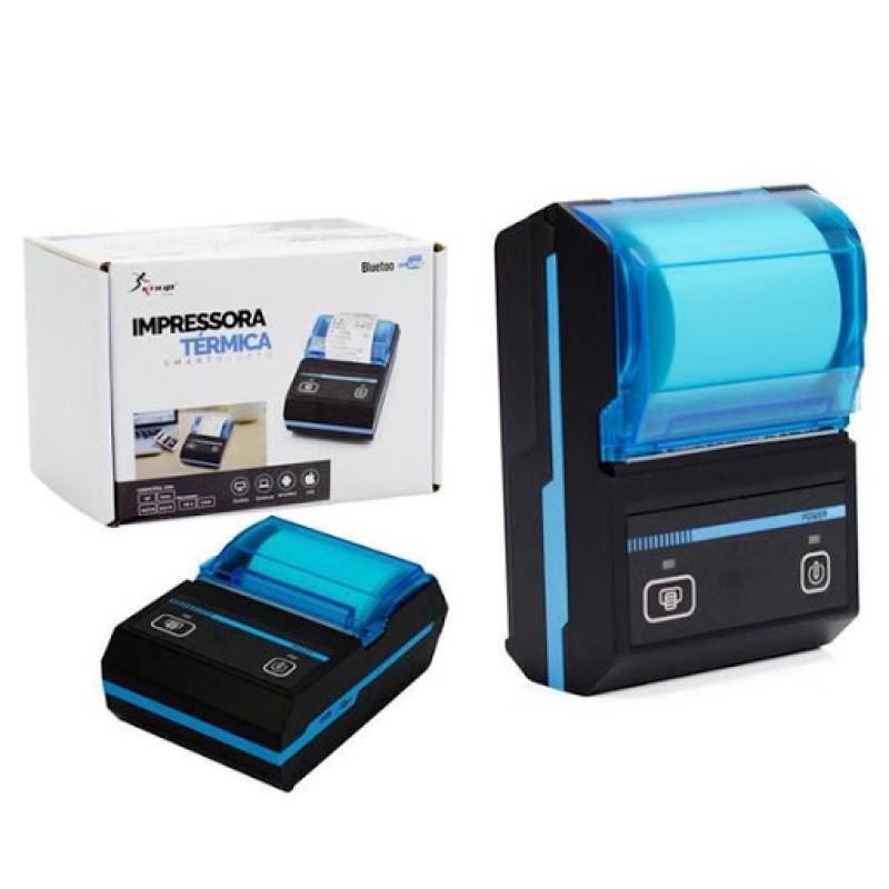 Mini Impressora Portatil Bluetooth Termica Kp-1020 Knup 58mm REF KP-1020