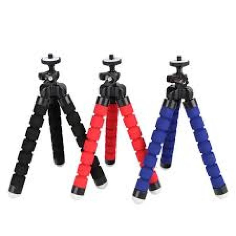 Mini Tripé P/ câmera Digital Universal Retratil Flexivel