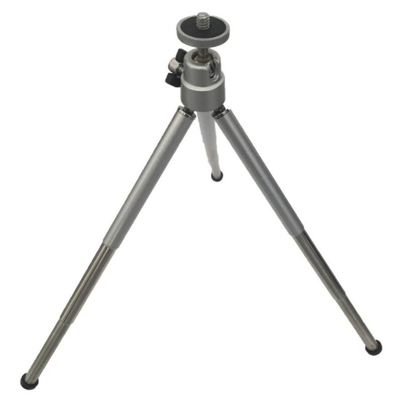 Mini Tripé P/câmera Digital Universal Retratil Mt-03 Metalico