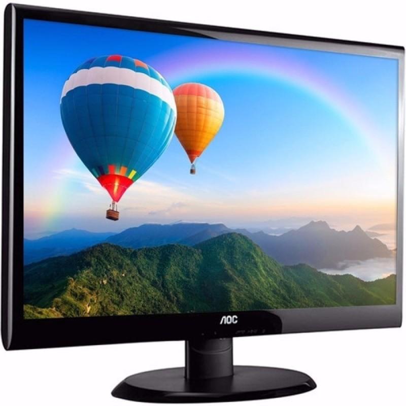 MONITOR 18,5 AOC LCD LED E970SWHNL WIDESCREEN VGA HDMI