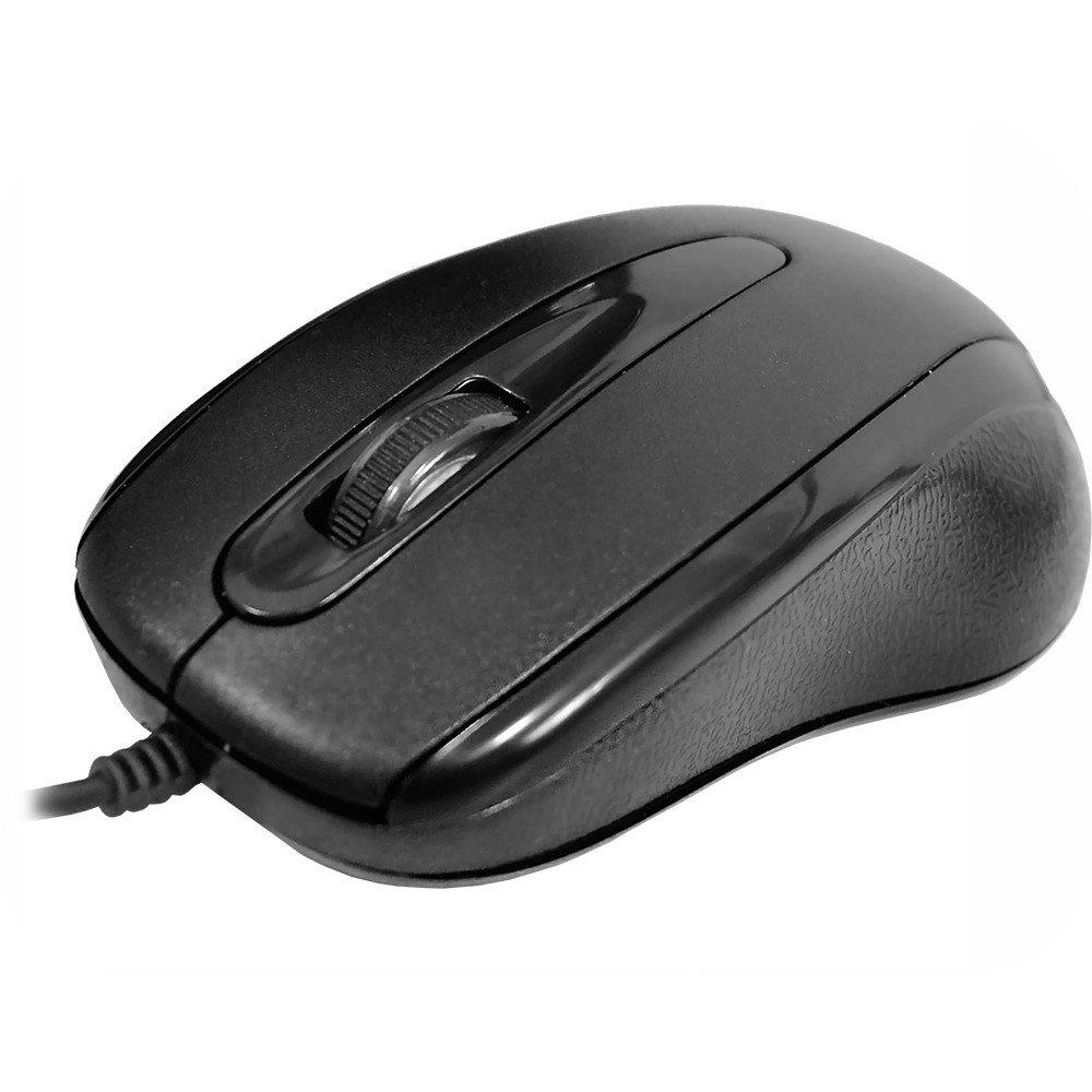 MOUSE KMEX MOM235 USB PRETO 1200DPI OPTICO