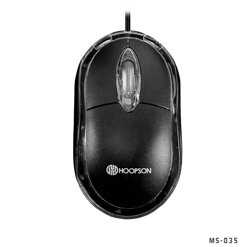 MOUSE PARA COMPUTADOR MARCA HOOPSON USB PRETO