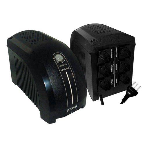 NOBREAK UPS MINI 500VA BIVOLT/115V 454 TS SHARA