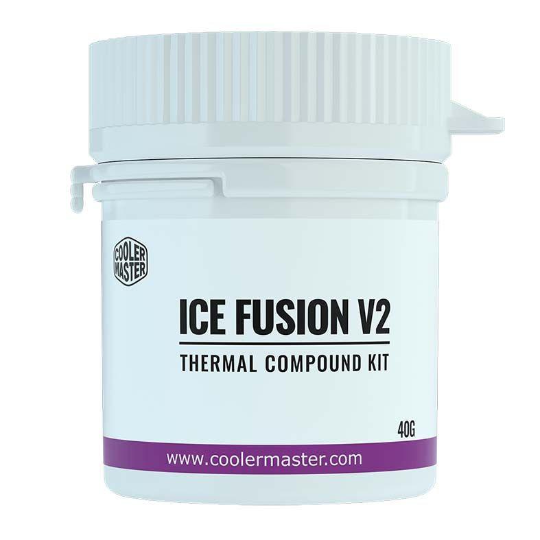 PASTA TERMICA COOLER MASTER ICE FUSION V2 - 40 GRAMAS - RG-ICF-CWR3-GP