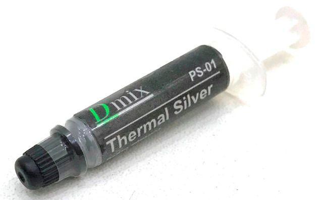 Pasta Térmica Prata 1g Thermal Silver Em Seringa PS01