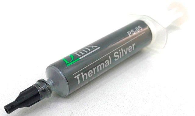 Pasta Térmica Prata 5g Thermal Silver Com Pazinha e seringa PS05