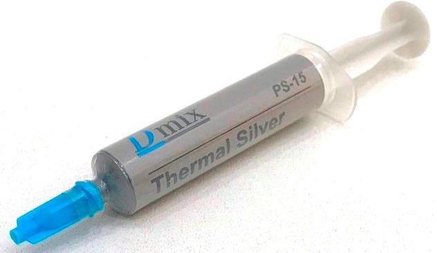 Pasta Térmica Prata 5g Thermal Silver Com Pazinha PS15 Seringa