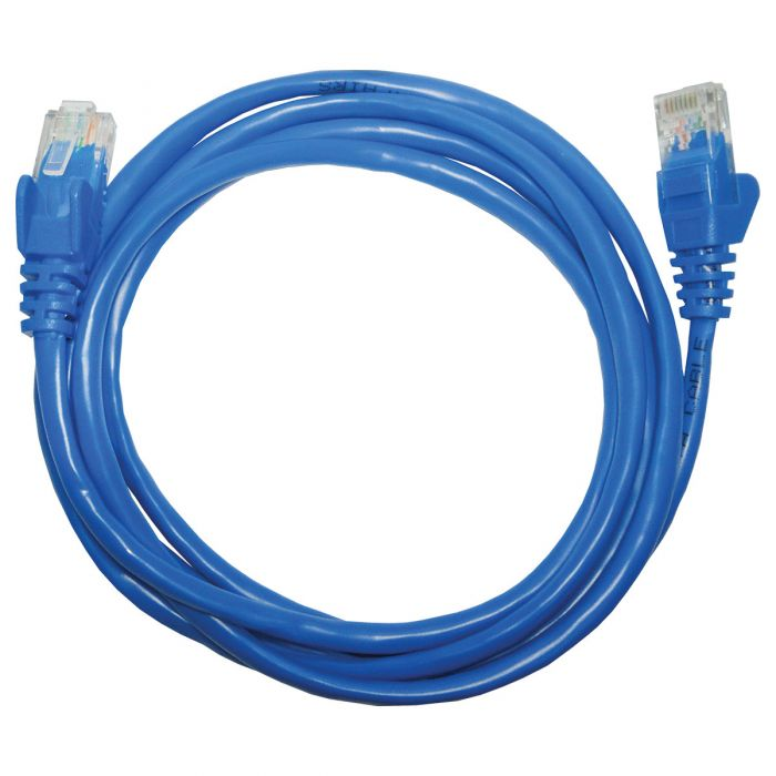 PATCH CORD CAT.5E 1,5m AZUL PC-ETHU15BL PLUS CABLE