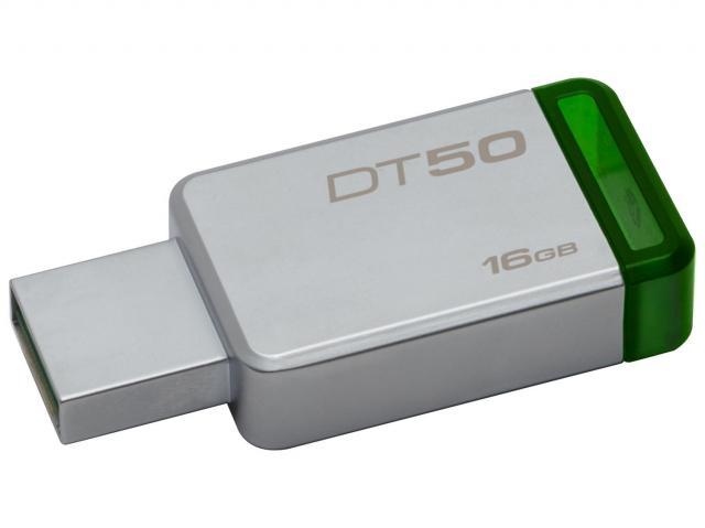PEN DRIVE 16 GB DATATRAVELER DT50 USB 3.1 AOKI0013 KINGSTON