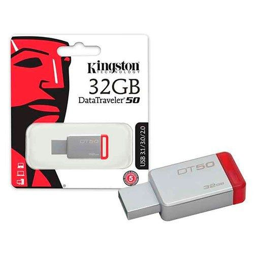 PEN DRIVE 32 GB DATATRAVELER DT50 USB 3.1 AOKI0014 KINGSTON