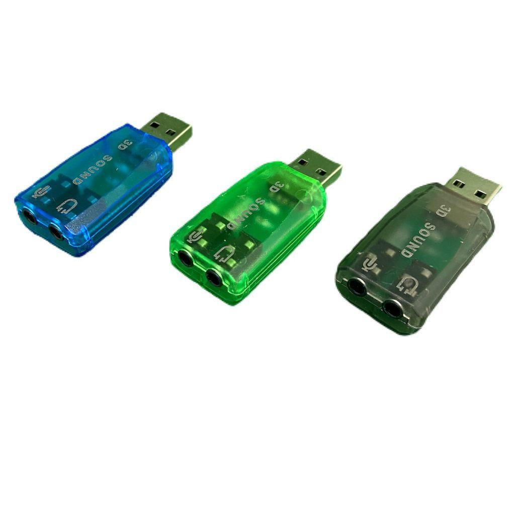 Placa de Som USB 5.1 Canais Notebook PC 3D PlugnPlay Xtrad XT-2026
