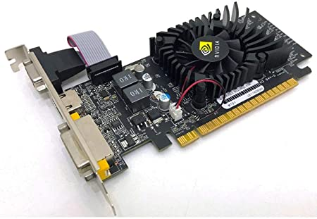 PLACA DE VIDEO PCI NVIDIA GEFORCE 520 MHZ 64BIT HDMI VGA DVI  DEX  GT-210 PV-02