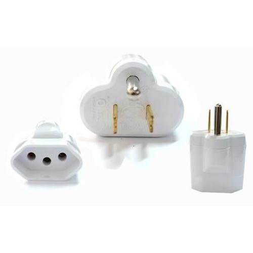 Plug Adaptador Padrão Novo p/ Padrão Antigo SL6002