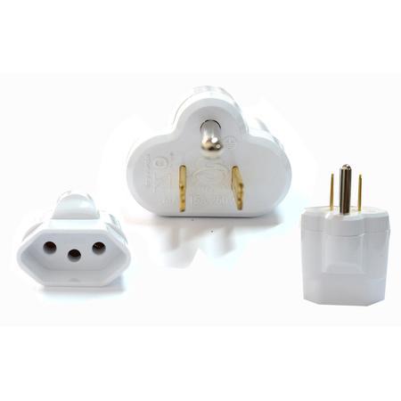 Plug Adaptador Padrão Novo p/ Padrão Antigo SL6002 KNUP