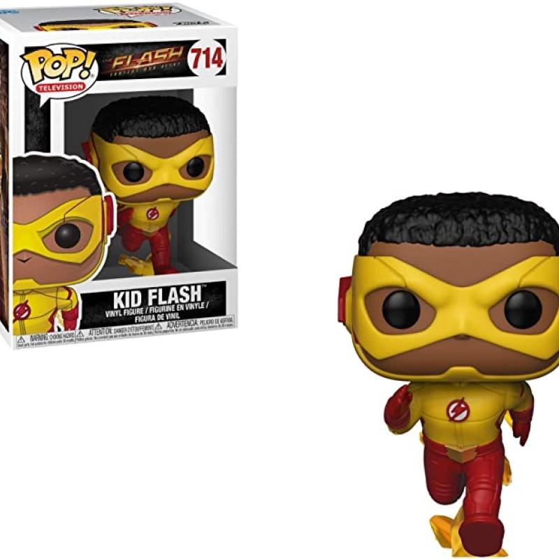 Pop Funko - DC - THE FLASH - KID FLASH #714 Novo 100% Original e lacrado