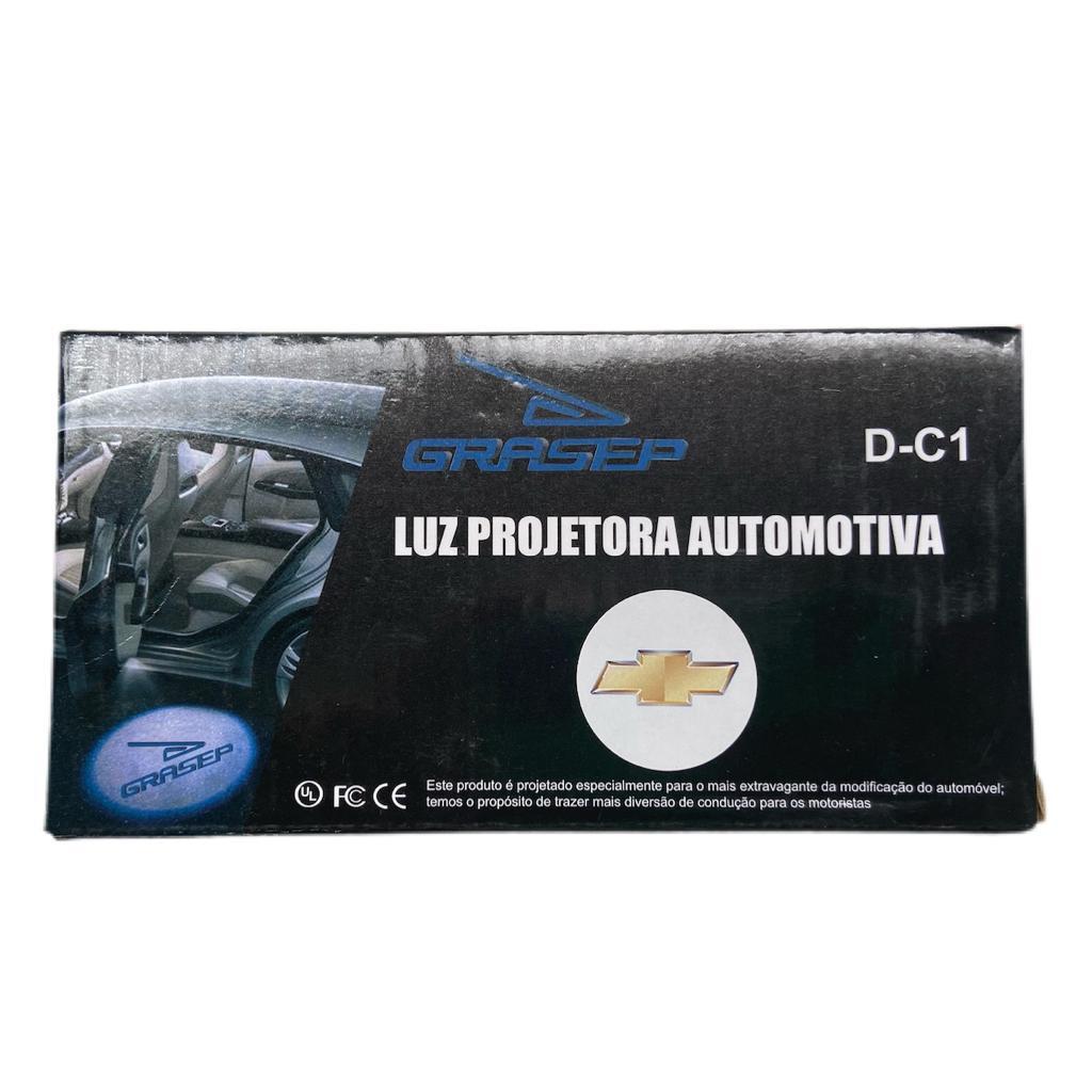 Projetor Porta De Carro Luz Cortesia CHEVROLET D-C1