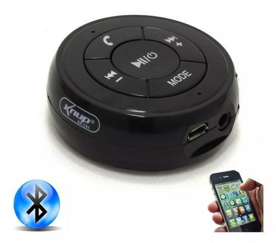 Receptor Bluetooth Som P2 Usb Microfone Atende Ligação KP-T91 KNUP