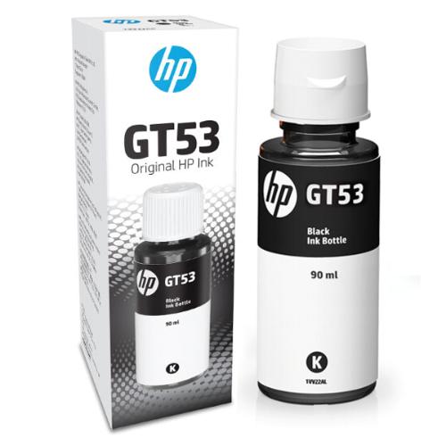 REFIL GARRAFA DE TINTA 1VV22AL PRETO GT53 90 ml HP