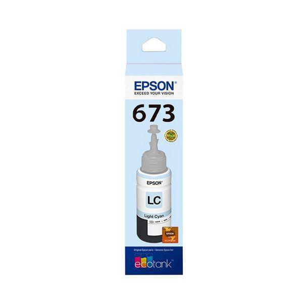 REFIL GARRAFA DE TINTA T673520-AL CIANO CLARO 70 ml EPSON